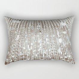 Crystals and Light Rectangular Pillow