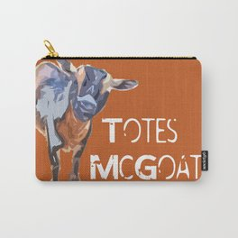 """""""Totes McGoats!"""" ~ Nigerian Dwarf Goat Pop Art Photography!  Gotta Love the Goaty-Woaties! Carry-All Pouch"""
