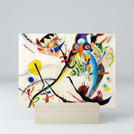 Kandinsky - Blue Segment Mini Art Print