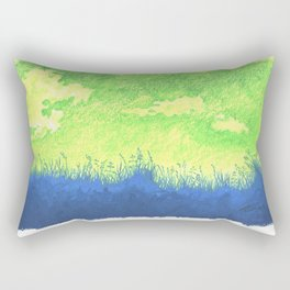 I realise That The Beauty Of Nature Is By Necessity Incredibly Complex Rectangular Pillow