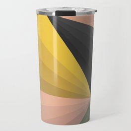 Geometric Colors Travel Mug