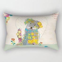 My Doggy Rectangular Pillow