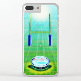 Rugby Clear iPhone Case