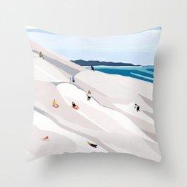 Sand Dunes Throw Pillow