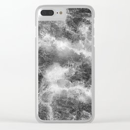 Cold water 54 Clear iPhone Case
