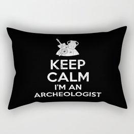 Keep Calm Archeologist Rectangular Pillow