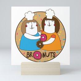 Bronuts Mini Art Print