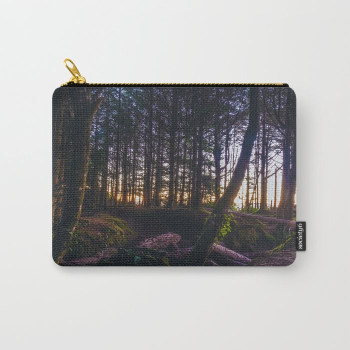 Wooded Tofino Carry-All Pouch