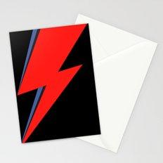 David Bowie Lightning bolt Stationery Cards