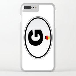 G Plate Clear iPhone Case