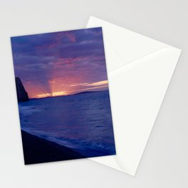 Lulworth Sunset Stationery Cards