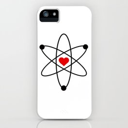 Science love iPhone Case