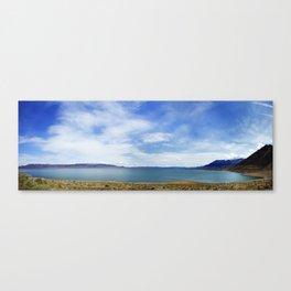 Walker Lake panorama Canvas Print