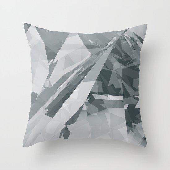 Ice cracks #2 Throw Pillow