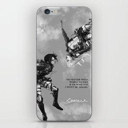 YC Falling iPhone Skin