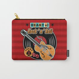 Heart of Rock 'n Roll Carry-All Pouch