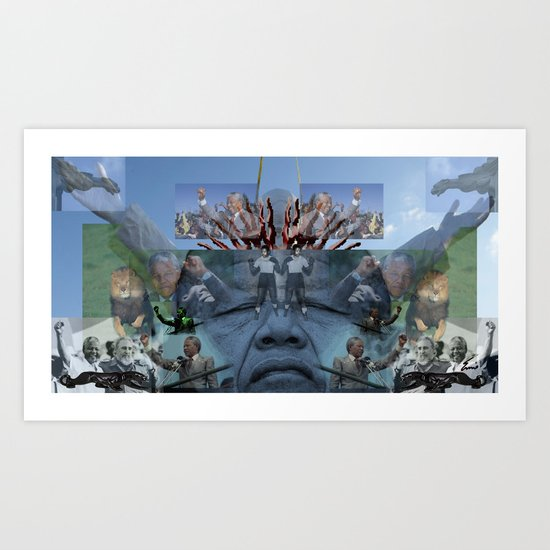 SUNCITY REMIX2 ~ SMS    Art Print