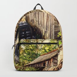 Cades Cove Grist Mill Backpack