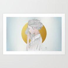 PEDROLIRA (Margot) Art Print