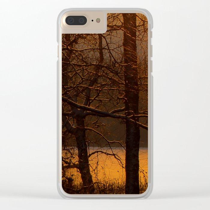 The sun has risen #decor #buyart #society6 Clear iPhone Case