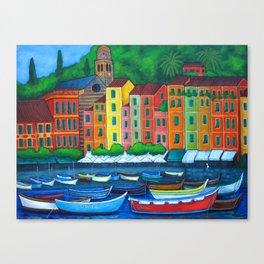 Colours of Portofino Canvas Print