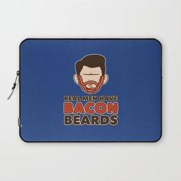 Bacon Beard (men's version) Laptop Sleeve