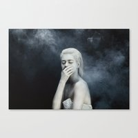 fear Canvas Prints featuring Fear by Jovana Rikalo