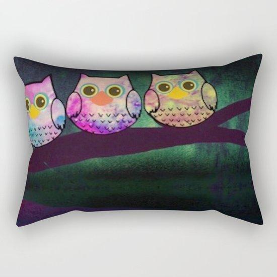 owl-29 Rectangular Pillow