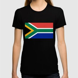 South African flag - high quality image T-shirt