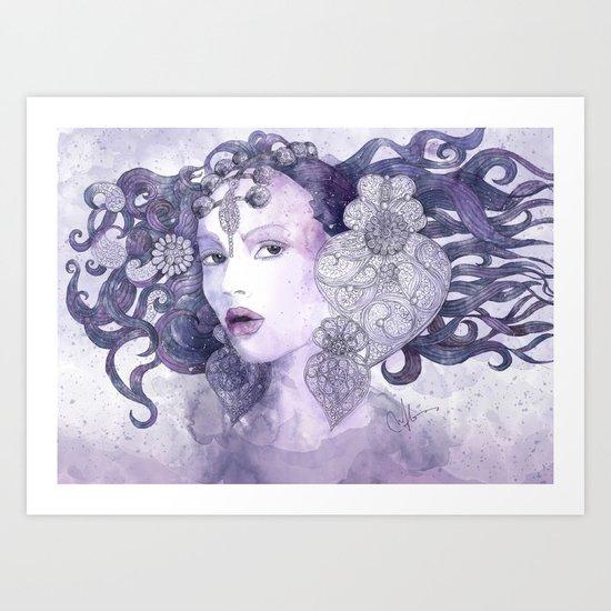 Filigran Art Print