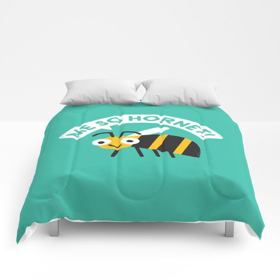 Full Metal Yellow Jacket Comforters