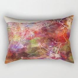 Muscat map Rectangular Pillow