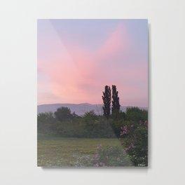 Mont Ventoux Provence Vaucluse Landscape  Metal Print