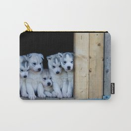 Husky puppies Carry-All Pouch