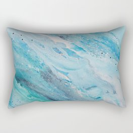 Come dive with me Rectangular Pillow