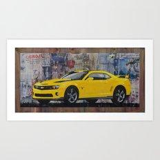 Bumblebee Art Print