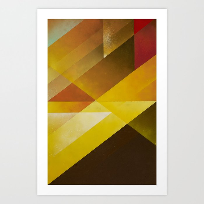 Jazz Festival 2012 (Number 3 in a series of 4) Art Print