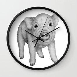 This Little Piggy Wall Clock