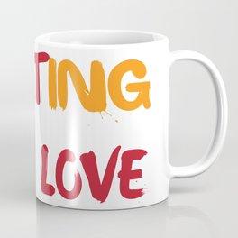 Fighting wiht love Coffee Mug