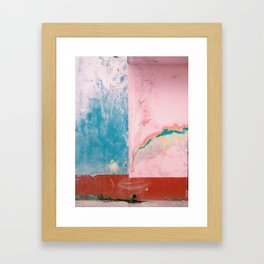 Colorful Calles Framed Art Print