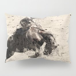 Hanging On - Bronco Busting Champ Pillow Sham