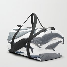Whale diversity Duffle Bag