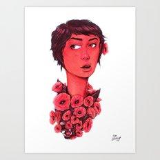 Wild X Free Art Print