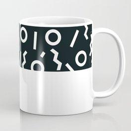 Memphis pattern 47 Coffee Mug