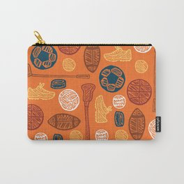 Sports Pattern Carry-All Pouch