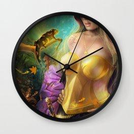 Salamander.  Wall Clock