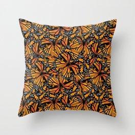 Monarch Butterflies Pattern | Butterfly Pattern | Throw Pillow