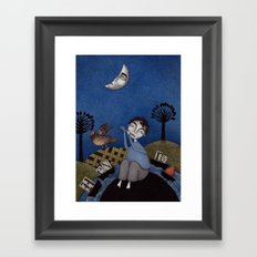 Henry and Adele Framed Art Print