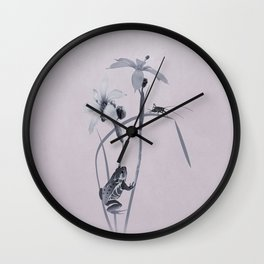 Wildflower Harmony Wall Clock