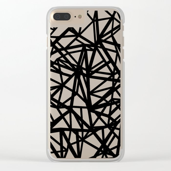 Ab  Out T Double Clear iPhone Case